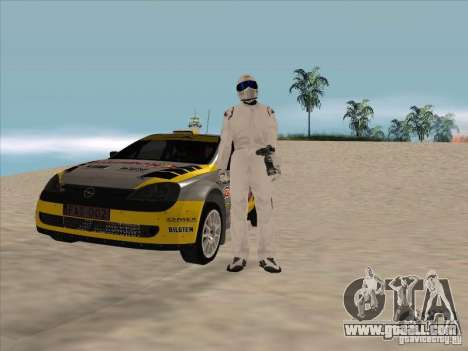 Opel Rally Car for GTA San Andreas back view