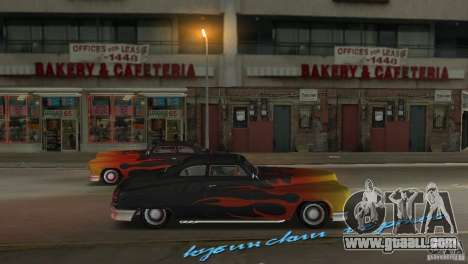 Cuban Hermes HD for GTA Vice City right view