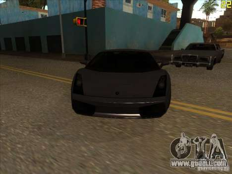 Lamborghini Gallardo Superleggera 2006 for GTA San Andreas left view