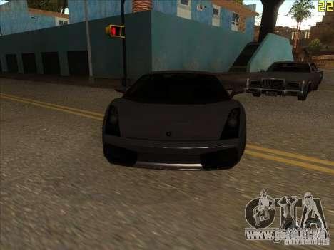 Lamborghini Gallardo Superleggera 2006 for GTA San Andreas left view