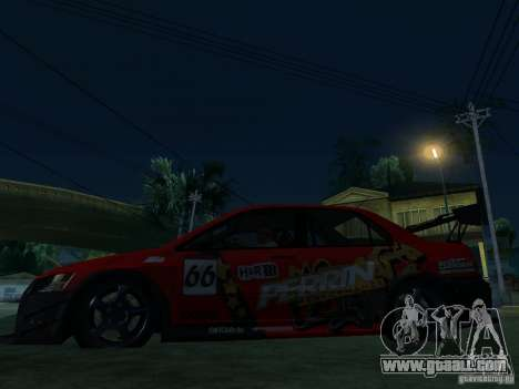 Mitsubishi Lancer Evo9 Wide Body 2 for GTA San Andreas