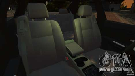Cadillac CTS-V 2004 for GTA 4 inner view