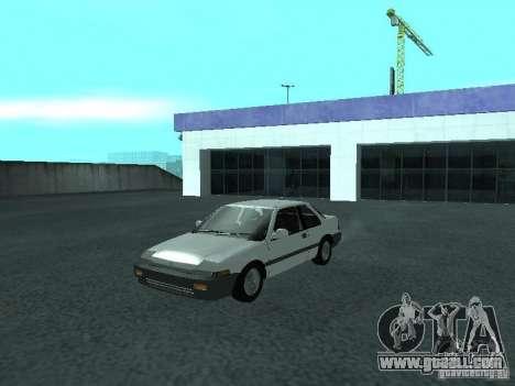Honda Accord for GTA San Andreas left view