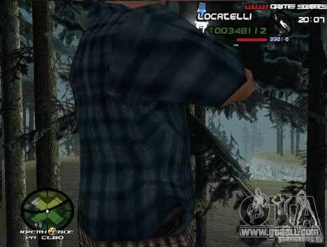 New HUD  v.2 for GTA San Andreas third screenshot