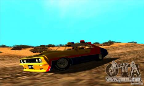 Ford Falcon 351 GT Interceptor Mad Max for GTA San Andreas right view