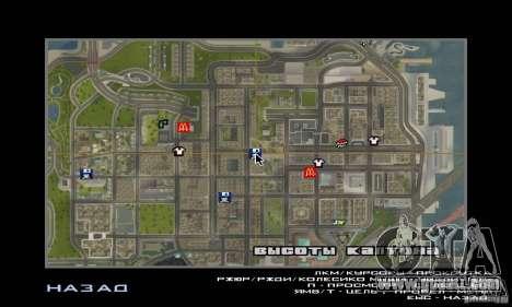 Modern Savehouse interior for GTA San Andreas sixth screenshot