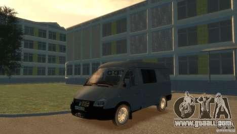 GAZ 2752 Sobol for GTA 4 back left view