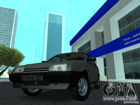 VAZ 2109 CR v. 2 for GTA San Andreas right view