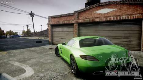 Mercedes-Benz SLS AMG 2010 [EPM] for GTA 4 bottom view
