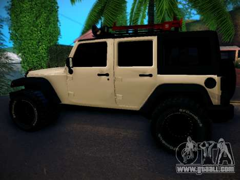 Jeep Wrangler 4x4 for GTA San Andreas