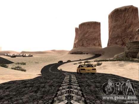 New roads in Las Venturas for GTA San Andreas second screenshot