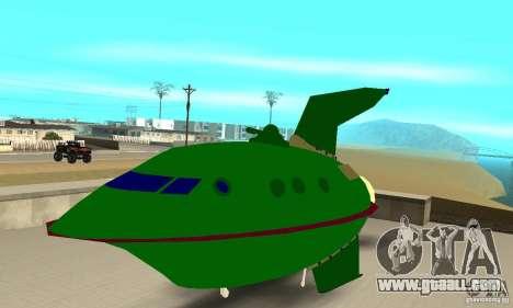 Planet Express for GTA San Andreas