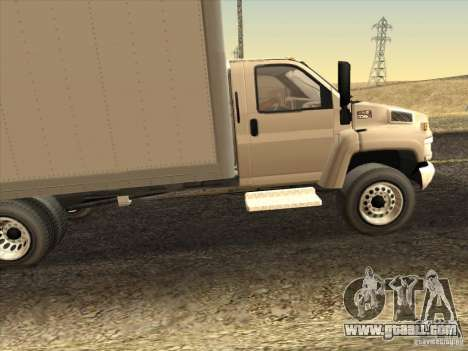 GMC 5500 2001 for GTA San Andreas left view