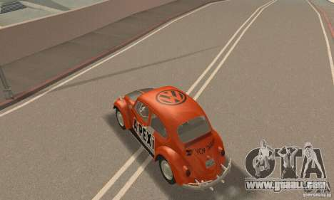 Volkswagen Beetle 1963 for GTA San Andreas