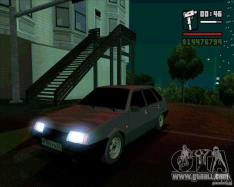 VAZ 2109 05 Final for GTA San Andreas