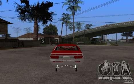 Chevrolet Impala 1995 for GTA San Andreas back left view