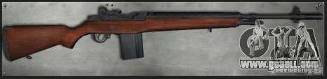 M14 for GTA San Andreas