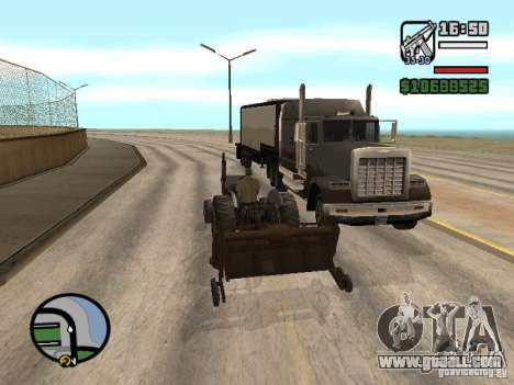 Cars with trailers for GTA San Andreas fifth screenshot
