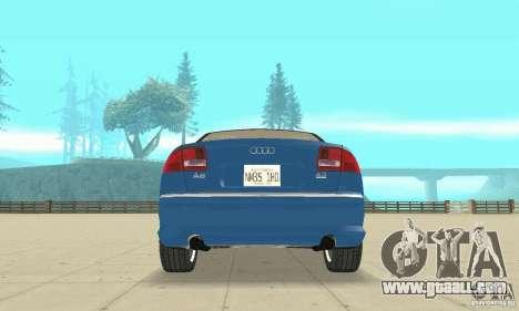 Audi A8L 4.2 FSI for GTA San Andreas wheels