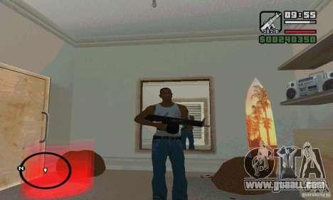 The AA-12 shotgun for GTA San Andreas forth screenshot