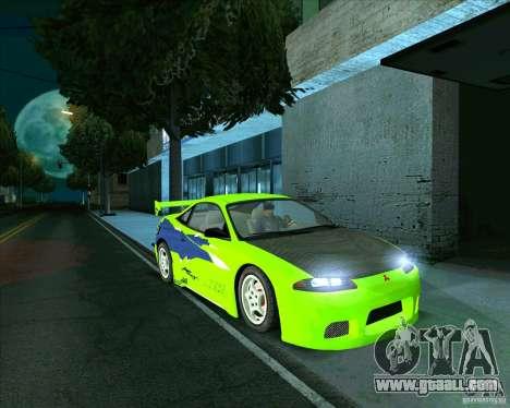 Mitsubishi Eclipse GS-t for GTA San Andreas