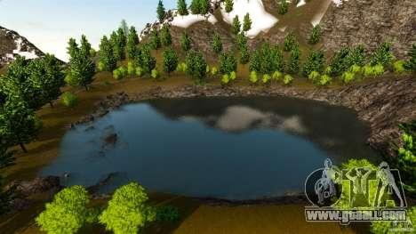 Countryside Mountains V for GTA 4 third screenshot