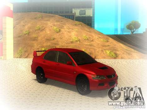 Mitsubishi Lancer Evolution IX MR 2006 for GTA San Andreas