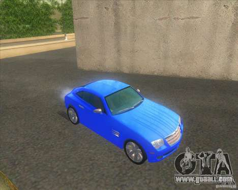 Chrysler Crossfire for GTA San Andreas right view