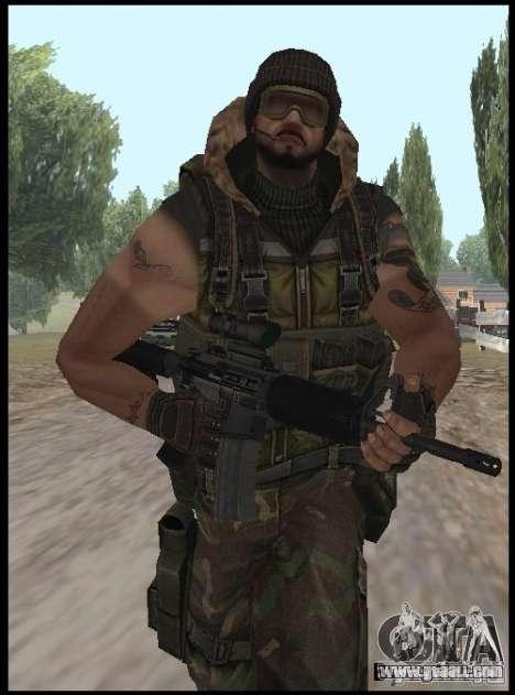 [Point Blank] Terrorist for GTA San Andreas second screenshot