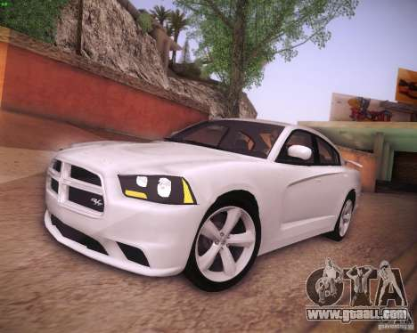 Dodge Charger 2011 v.2.0 for GTA San Andreas left view