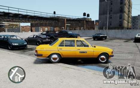Mercedes-Benz 230 E Taxi for GTA 4 right view