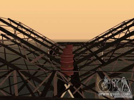 Huge MonsterTruck Track for GTA San Andreas eighth screenshot