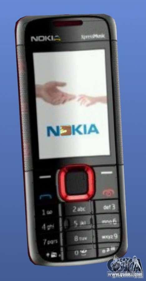 Nokia 5130 Xpressmusic mobile phone for GTA 4