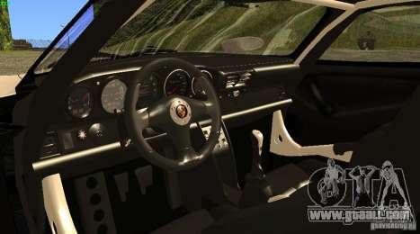 Porsche 911 GT1 Evolution Strassen Version 1997 for GTA San Andreas back left view