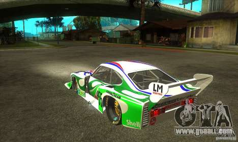 Ford Zakspeed Capri Mk3 (1978-1983) for GTA San Andreas back left view