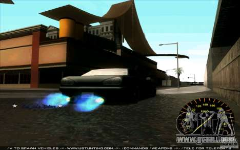 Speedometer for GTA San Andreas third screenshot