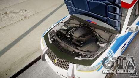 Carbon Motors E7 Concept Interceptor NYPD [ELS] for GTA 4 upper view