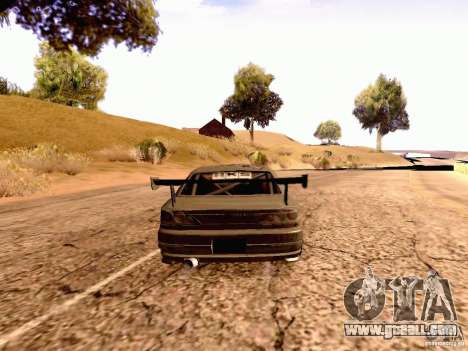 Nissan Silvia S15 By Blaze for GTA San Andreas left view