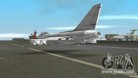 J-10 for GTA Vice City right view