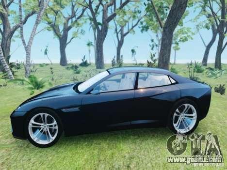 Lamborghini Estoque for GTA 4 left view