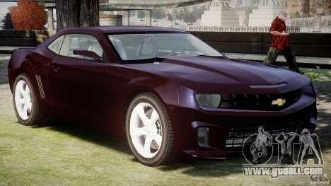 Chevrolet Camaro SS 2009 v2.0 for GTA 4 left view