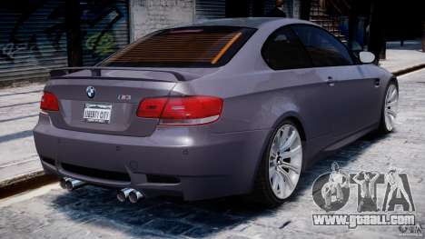 BMW M3 E92 stock for GTA 4 engine