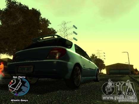 Subaru Impreza Wagon 2004 - 2002 for GTA San Andreas left view
