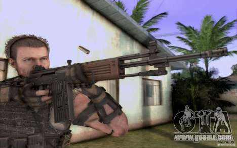 IMI GALIL AR for GTA San Andreas second screenshot