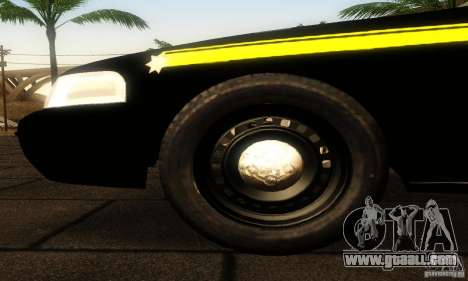 Ford Crown Victoria Montana Police for GTA San Andreas right view
