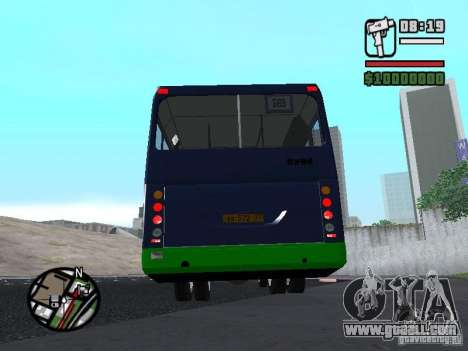 LIAZ 5256.25-II for GTA San Andreas back left view