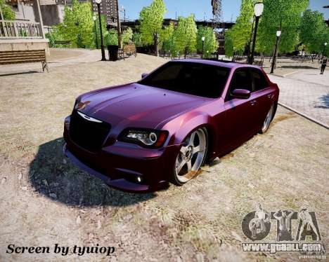 Chrysler 300 SRT8 DUB 2012 for GTA 4
