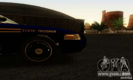 Ford Crown Victoria Orgeon Police for GTA San Andreas right view