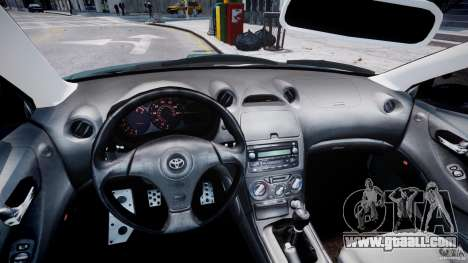 Toyota Celica Tuned 2001 v1.0 for GTA 4 back view