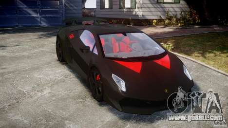Lamborghini Sesto Elemento 2013 V1.5 for GTA 4